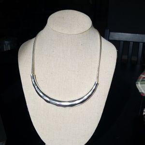 Sculpted Collar Necklace